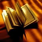 Coran, livre sacré de l'islam.