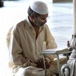 Musulman pratiquant Saoum